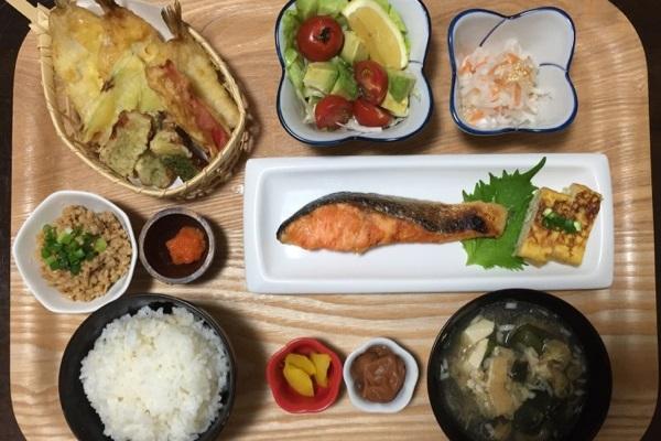 魚 天ぷら 料理 ご飯
