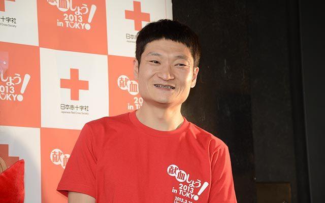 ザブングル加藤 Tシャツ 赤 献血